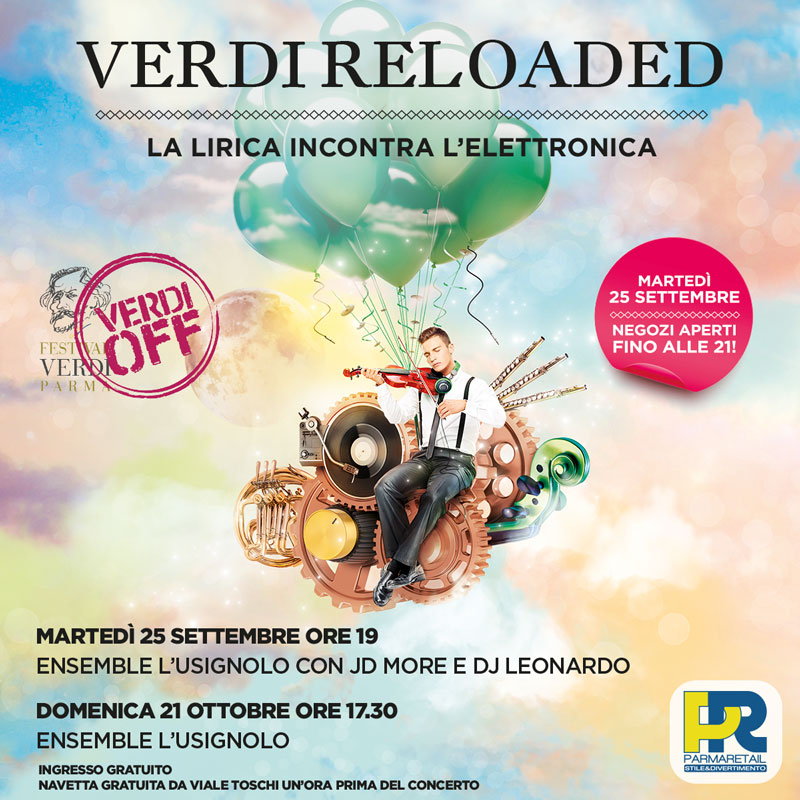 Verdi Reloaded - Parma Retail